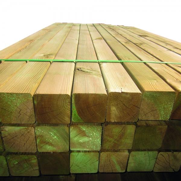 Kantholzpfosten von Tetzner & Jentsch | 9 x 9 x 240 cm