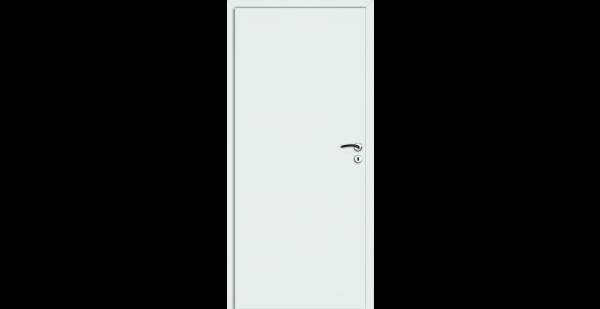 Schallschutztür Wohnungseingangstür Weiß von Prüm