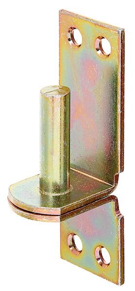 Kloben auf Platte von GAH-Alberts, DI-Haken, Ø 10 mm | 90 x 30 mm