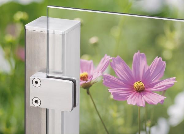 VETRO Glasscheibe, Maße: B 1200 x H 1800 mm, Klarglas