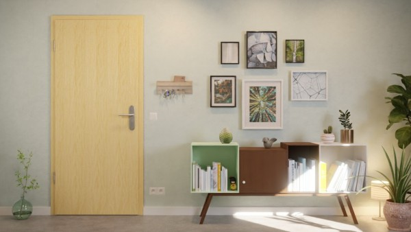 LIMBA lackiert, Zimmertür   Optima 30 Innentür von Jeld-Wen