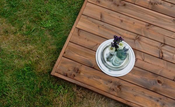 Terrassendiele Douglasie KD+ 28 mm, Premiumprofil   28 x 145 mm   Div. Längen