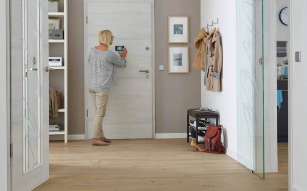 Einbruchschutztür | 198,5 x 86 cm in Weiß von Prüm