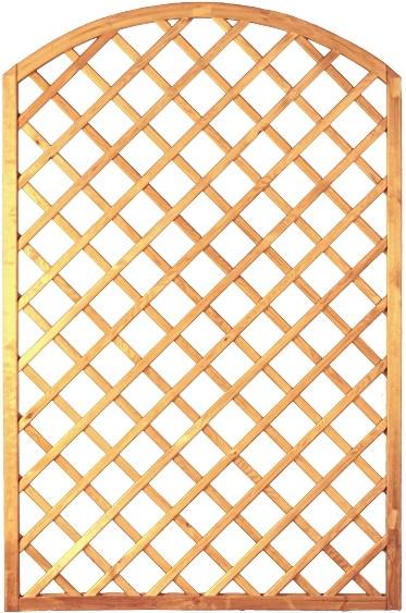 Bogen-Rankzaun-Serie 10 x 10, Größe: ca. 120 x 180/160 cm