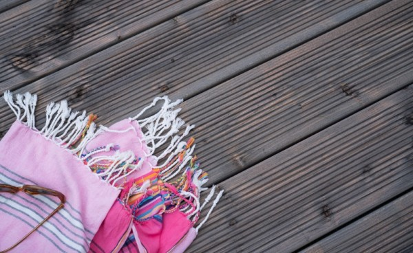Terrassendiele Douglasie KDG grau 28 mm, Premiumprofil | 28 x 145 mm | Div. Längen