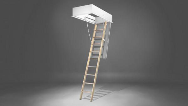 Wellhöfer Treppenteil 3-tlg für Raumhöhe